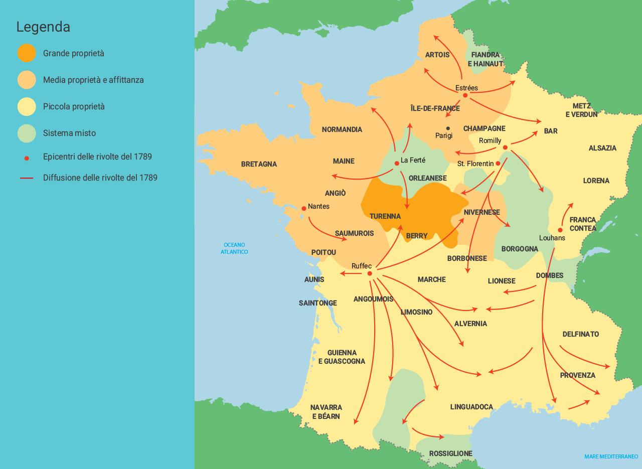 Cartina Spagna Guerra Civile