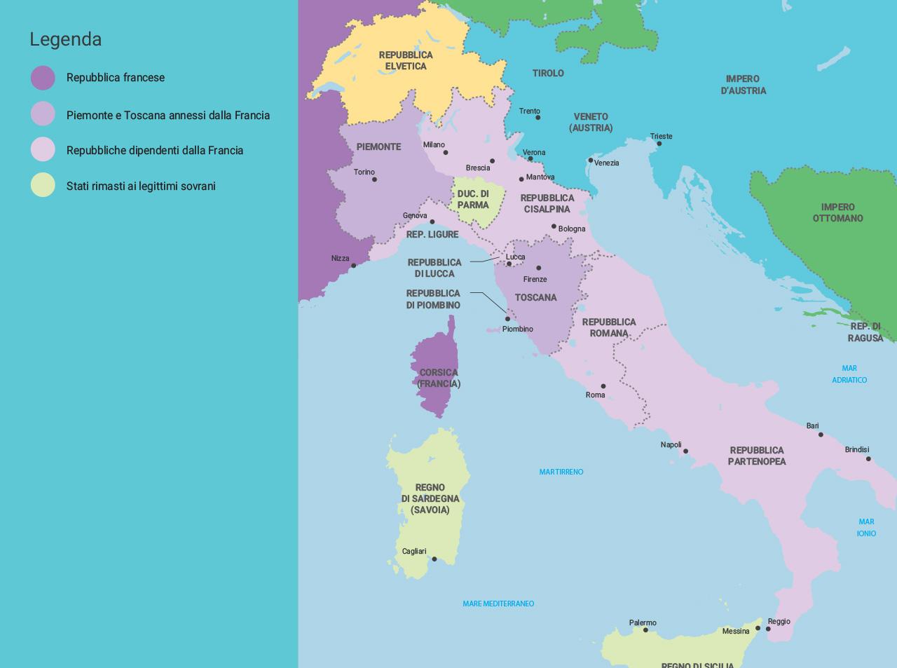 Cartina Italia Romana.Mondadori Education
