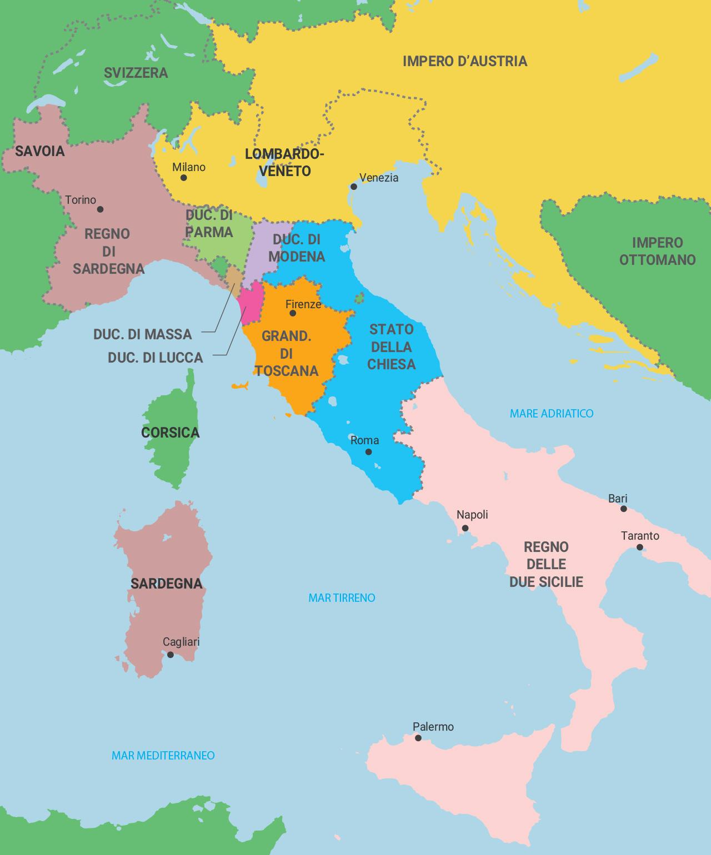 Cartina Politica Italia Zoom.Mondadori Education