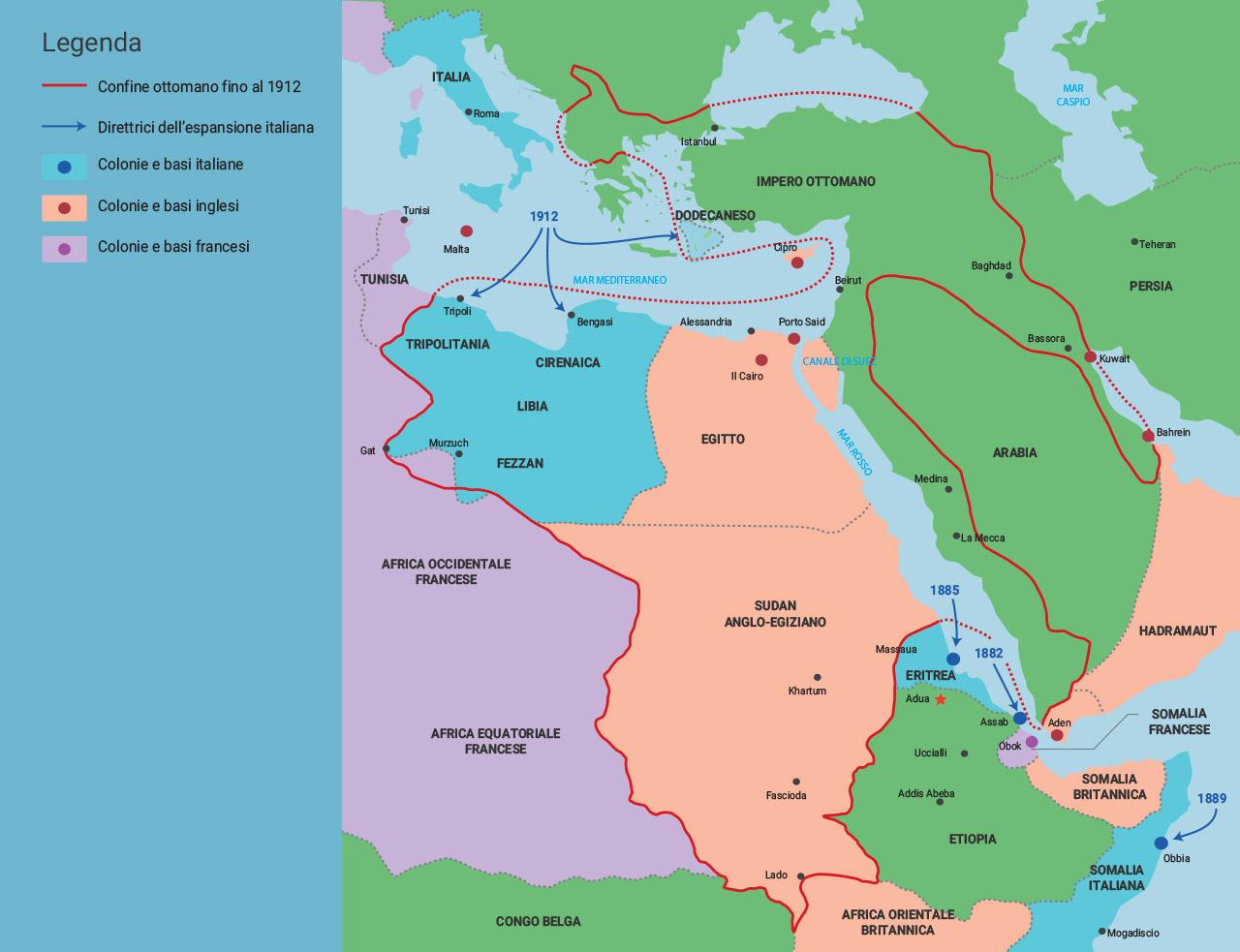 Cartina Politica Africa In Italiano.Mondadori Education