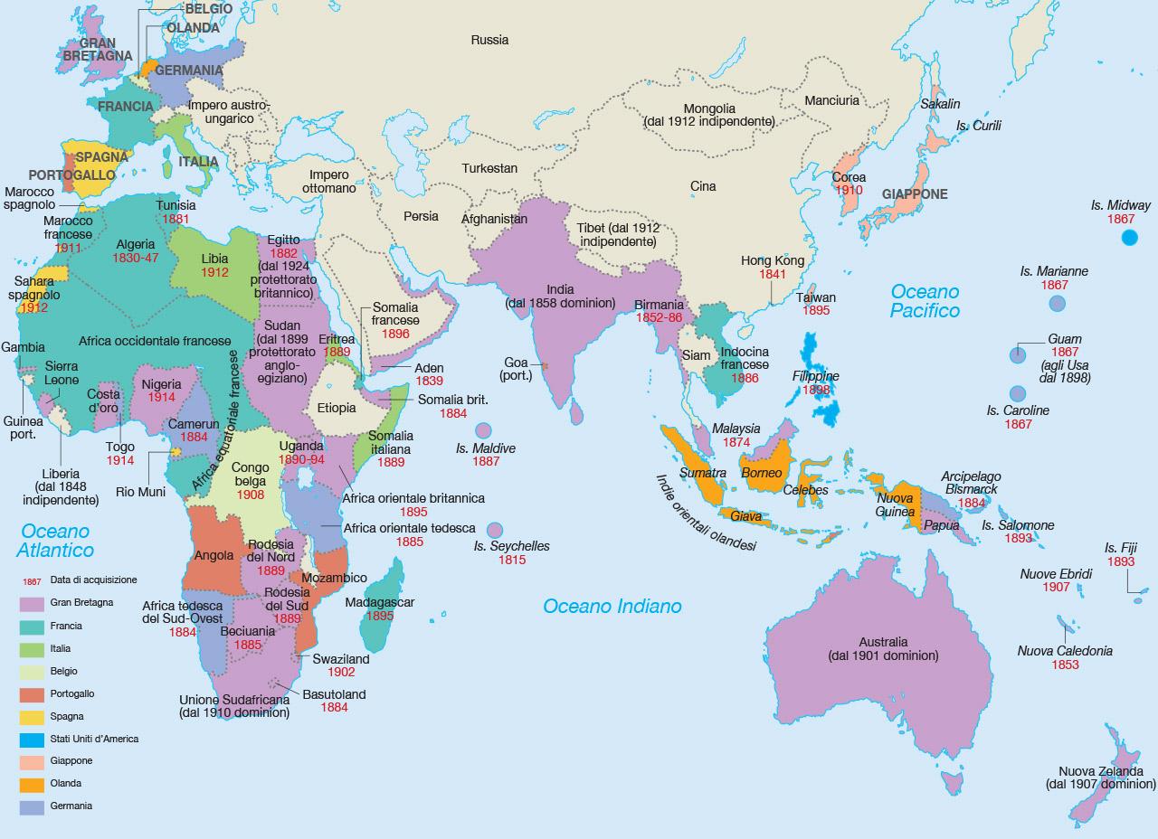 Cartina Africa In Italiano.Mondadori Education