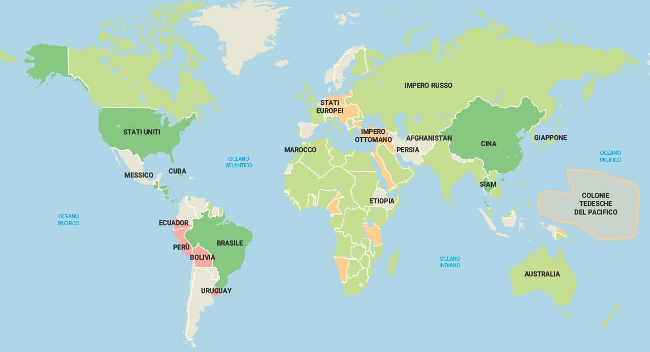 Cartina Mondiale Stati.Mondadori Education
