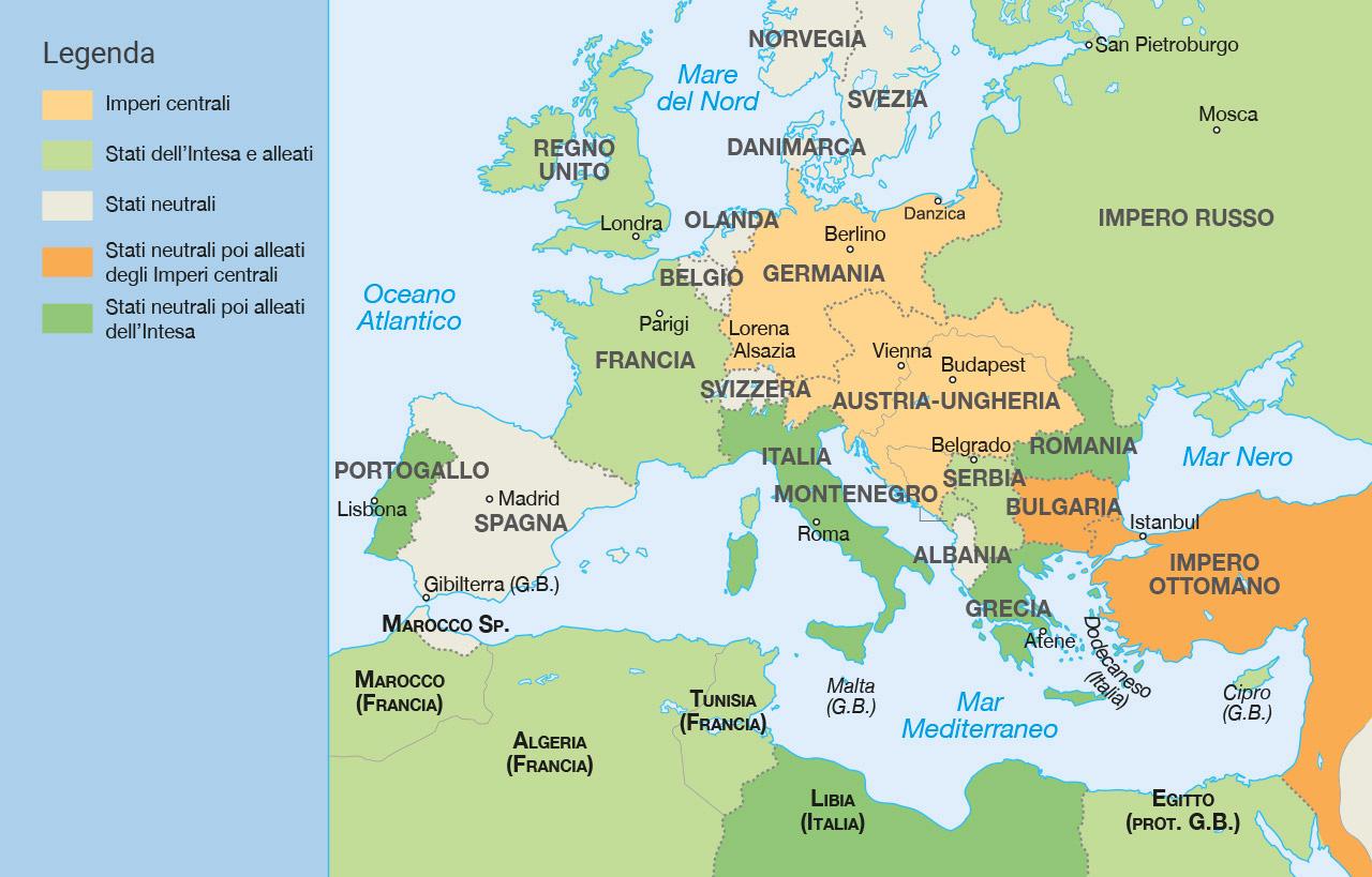 Olanda Cartina Fisica.Cartina Germania Italia